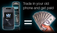 Trade in your old phone and get paid.