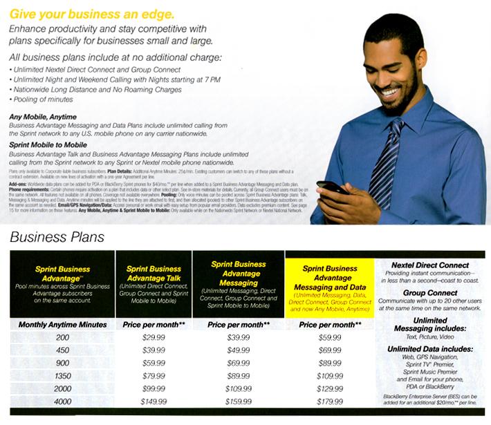 Sprint business plan